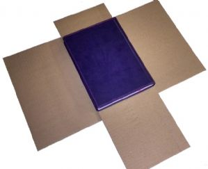 Book Mailer - Size2 - Pack of 25 - 300x240x80mm - Large Books & Prints